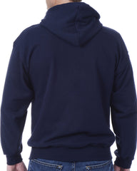 Men's Recycled Hoodie - Navy Blue Zip