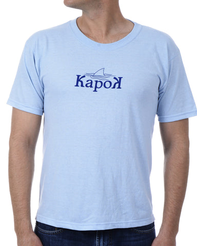 Men's Recycled Tee - Blue Shark Fin