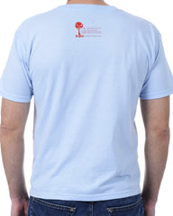 Men's Recycled Tee - Red Shark Fin