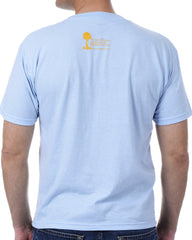 Men's Recycled Tee - Yellow Shark Fin
