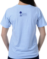 Women's Recycled Tee - Blue Whale Tail