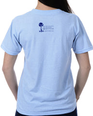 Women's Recycled Tee - Blue Shark Fin