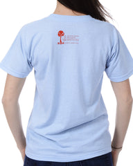 Women's Recycled Tee - Red Whale Tail