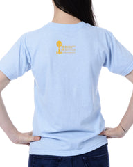 Women's Recycled Tee - Yellow Whale Tail