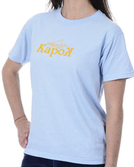 Women's Recycled Tee - Yellow Shark Fin