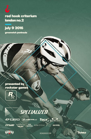 Red Hook Crit London No.2 Official Poster