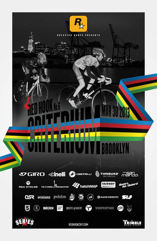 Red Hook Crit 2013 Official Poster