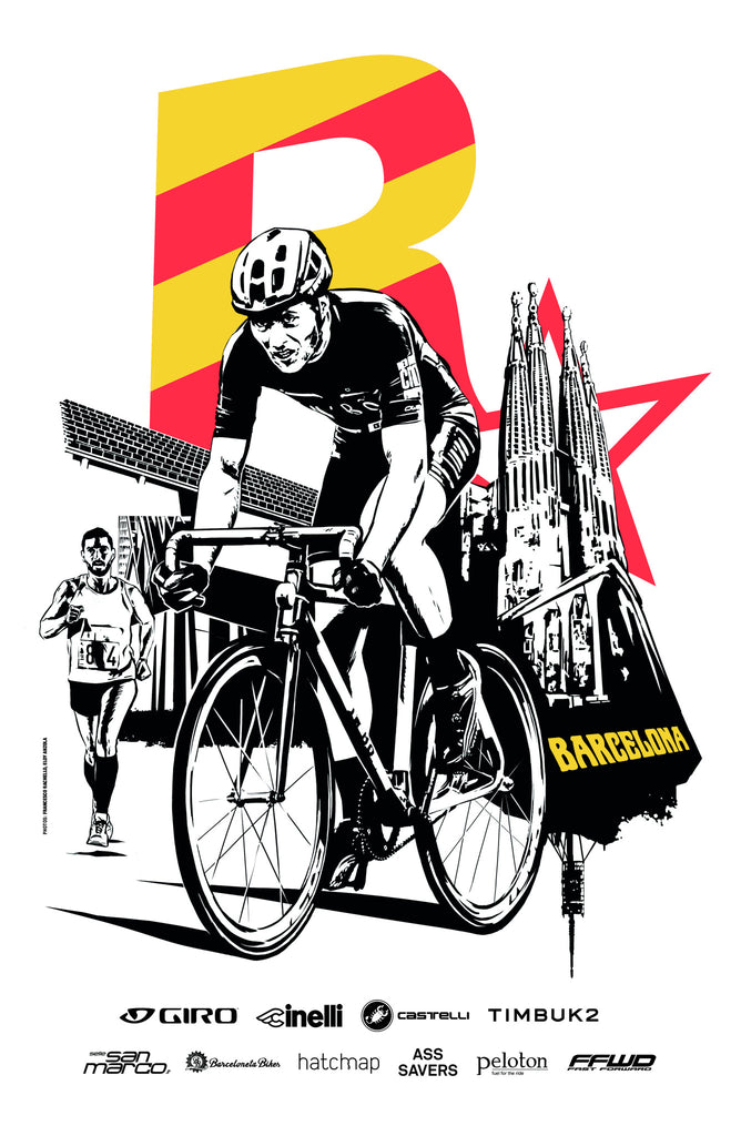 Red Hook Criterium x Rockstar Games Barcelona No.2 Poster