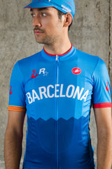 Barcelona No.5 - Castelli Men's Short Sleeve Jersey