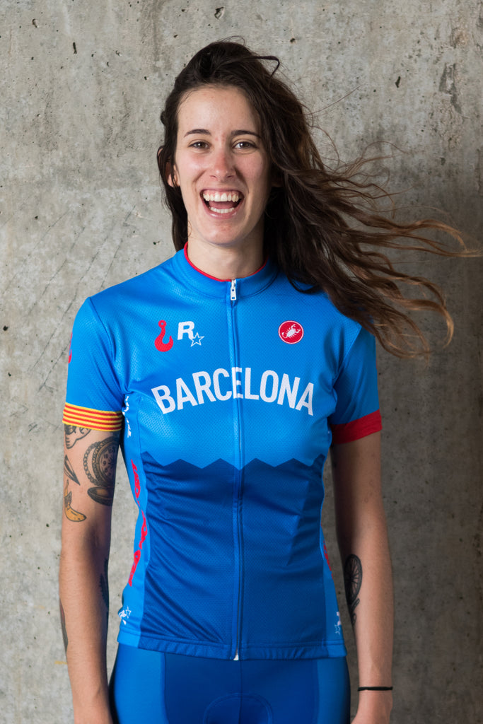 Barcelona No.5 - Castelli Women's Short Sleeve Jersey