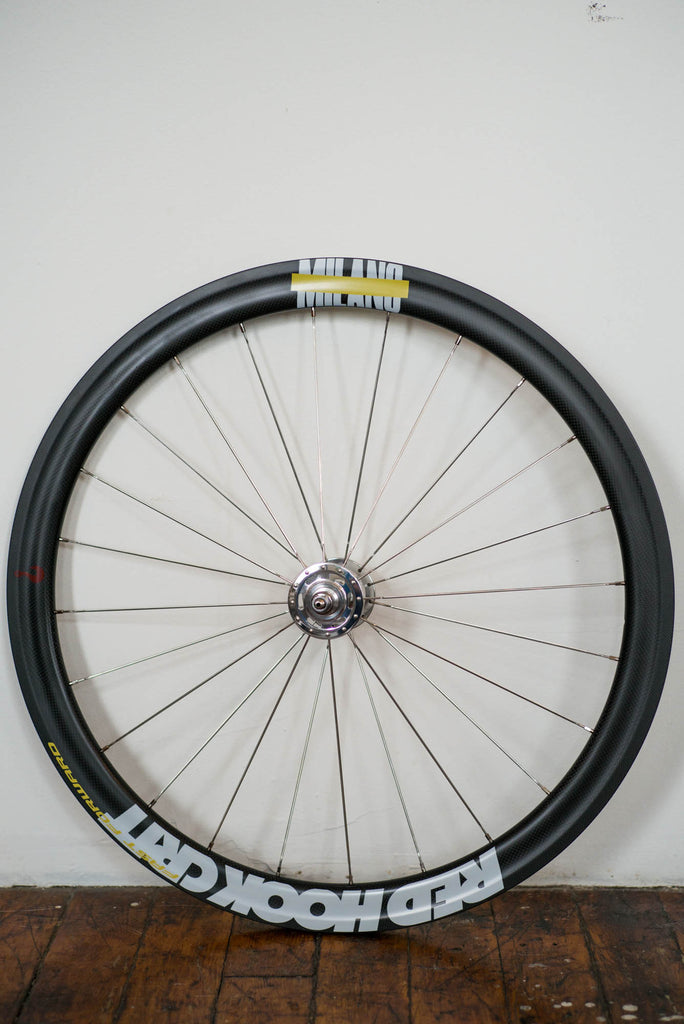 Milano No.9 - FFWD F4 Track Wheel Set (Carbon Clincher)