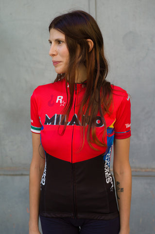 Milano No.6 - Castelli Women's Short Sleeve Jersey