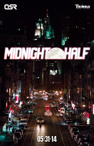 2014 Midnight Half Poster