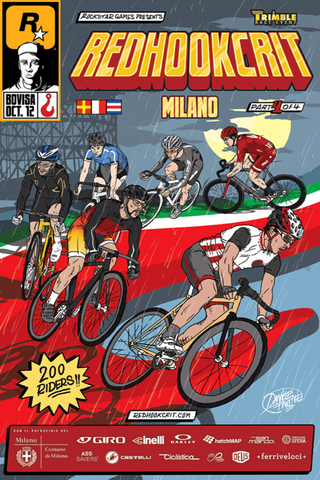 Red Hook Crit 2013 Milano Alt Poster