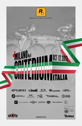 Red Hook Crit 2013 Milano Official Poster