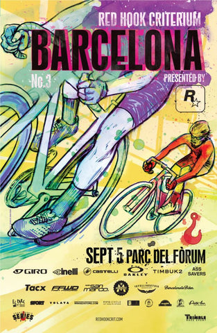Barcelona No.3 - Official Poster