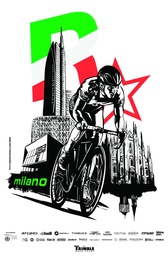 Red Hook Criterium x Rockstar Games Milano No.5 Poster