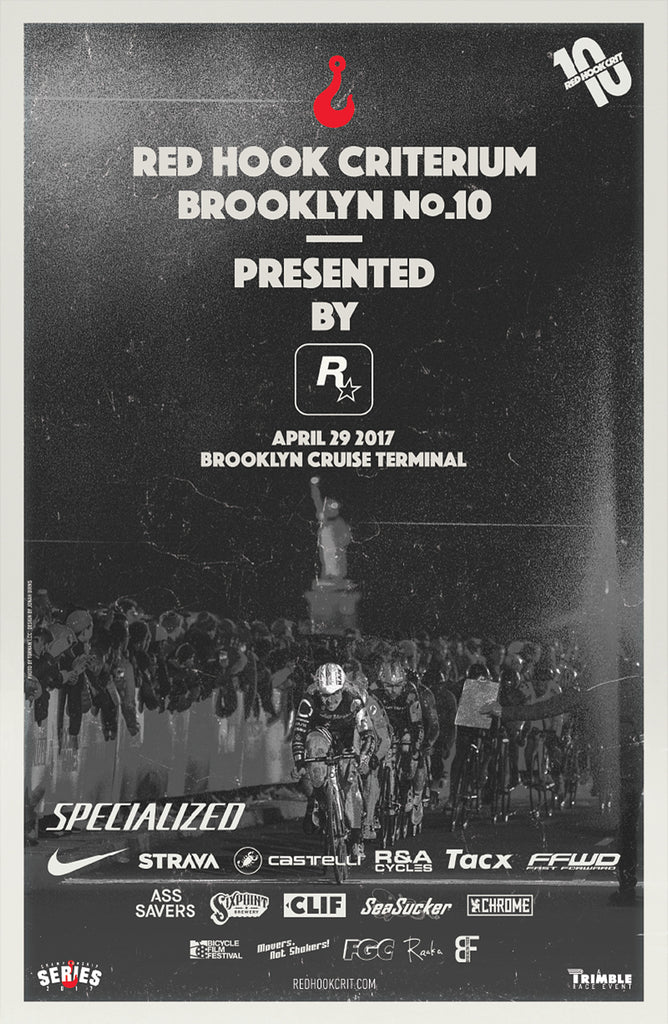 Red Hook Crit Brooklyn No.10 Official Poster