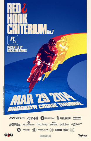 Red Hook Criterium Brooklyn No.7 Official Poster