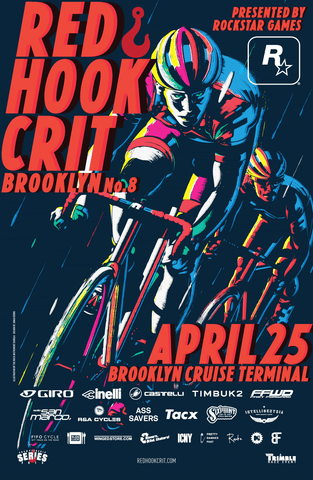 Red Hook Criterium Brooklyn No.8 Official Poster