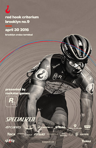 Red Hook Crit Brooklyn No.9 Official Poster