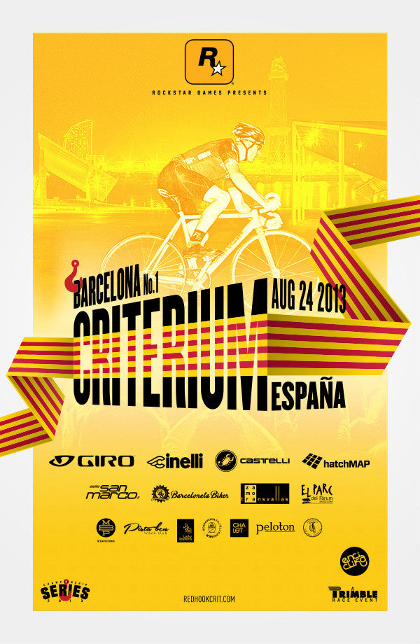 Red Hook Crit 2013 Barcelona Official Poster