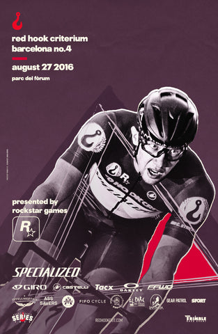 Red Hook Crit Barcelona No.4 Official Poster
