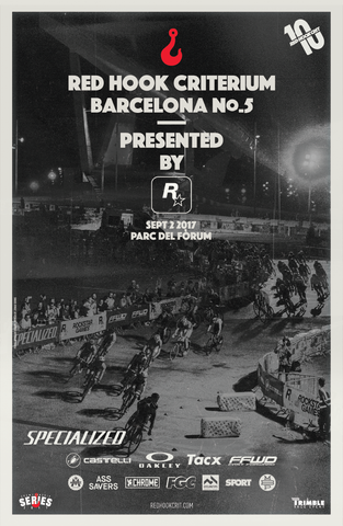 Red Hook Crit Barcelona No.5 Official Poster