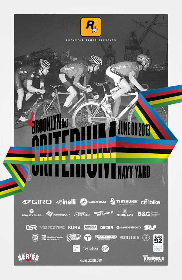 Red Hook Crit 2013 Navy Yard Official Poster