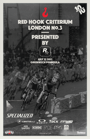 Red Hook Crit London No.3 Official Poster
