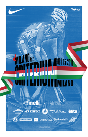Red Hook Crit 2011 MILANO Poster