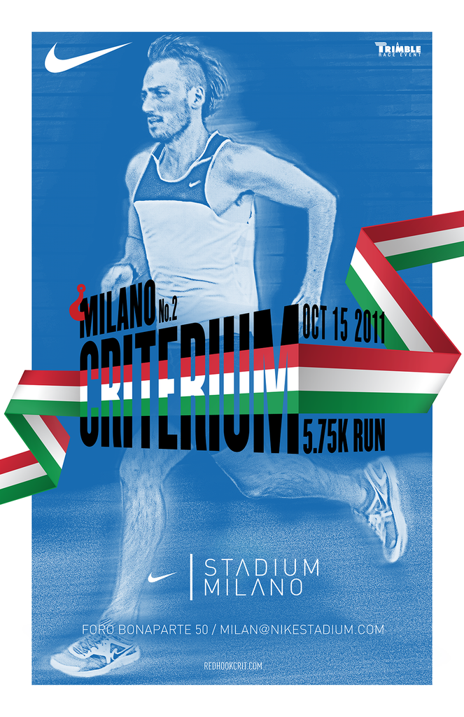Red Hook Crit 2011 MILANO 5K Poster