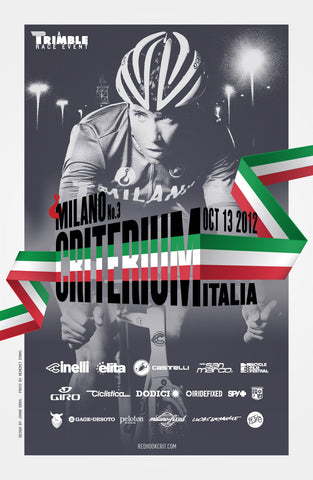 Red Hook Crit 2012 MILANO Official Poster