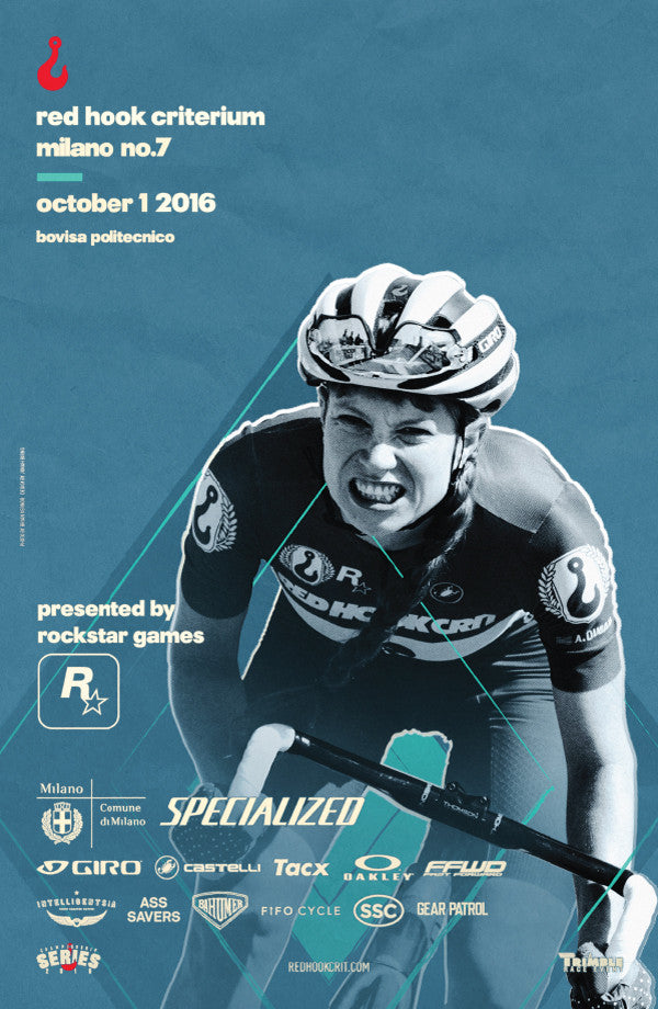 Red Hook Crit Milano No.7 Official Poster