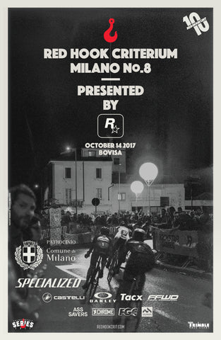 Red Hook Crit Milano No.8 Official Poster