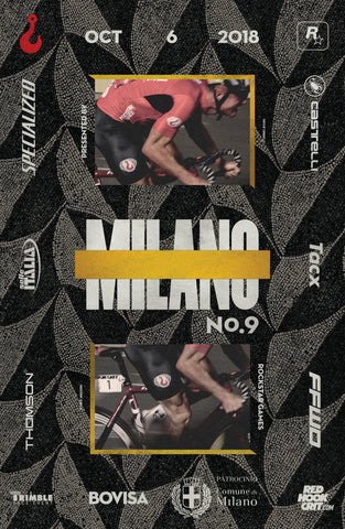 Red Hook Crit Milano No.9 Official Poster