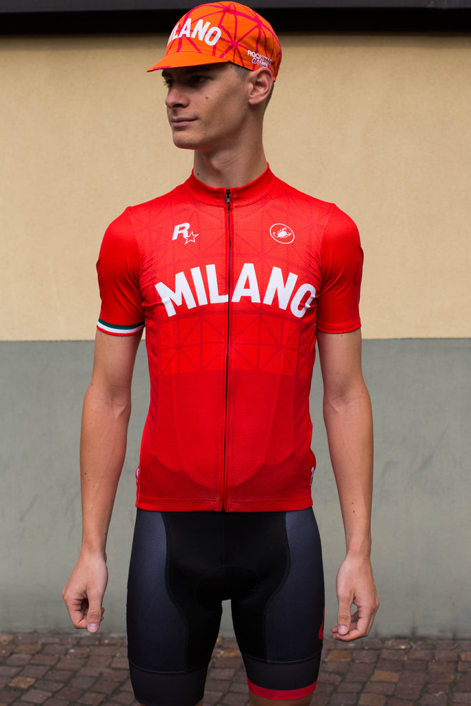 Milano No.8 - Castelli Men's Short Sleeve Jersey