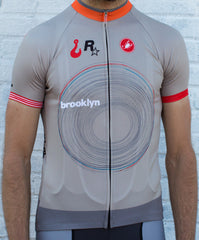 Brooklyn No.9 - Castelli Men's Short Sleeve Jersey (EU)