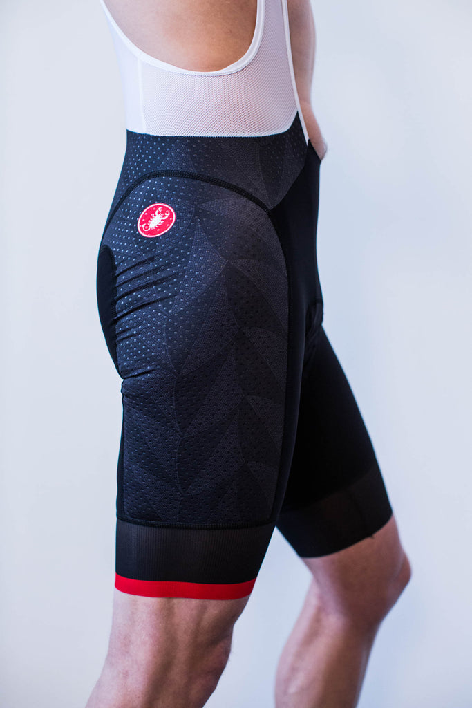 Milano No.9 - Castelli Men's Team Bib Shorts