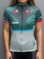 London No.2 - Castelli Women's Short Sleeve Jersey (EU)