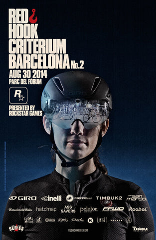 Red Hook Criterium Barcelona No.2 Official Poster