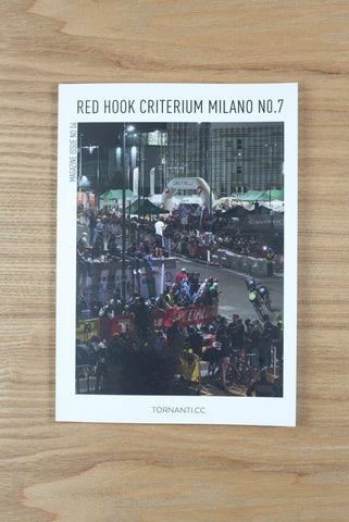 Tornanti x Red Hook Criterium Milano No.7 - Magazine Issue No.04