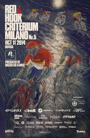 Red Hook Criterium Milano No.5 Official Poster