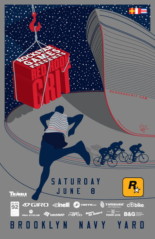 Red Hook Crit 2013 Navy Yard Alternate Poster