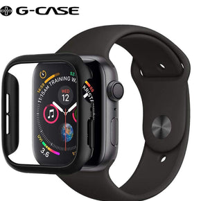 Thin Fit Designed Case Compatible with Apple Watch Case for 44mm Series 4 (2018) - Black