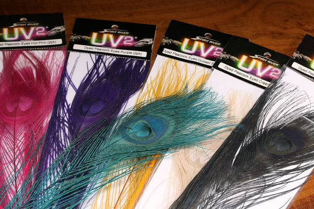 Spirit River UV2 Dyed Peacock Eyes