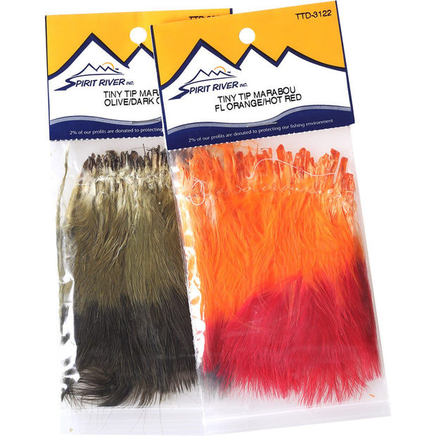 Spirit RiverTiny Tip Marabou