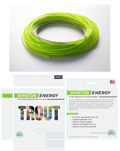 Winston Trout Energy Fly Line