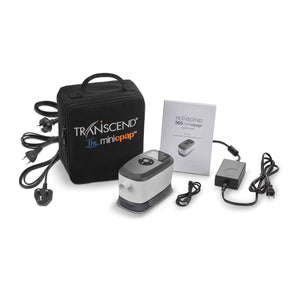 Somnetics Transcend 365 Auto Travel miniCPAP™ Machine with Integrated Heated Humidifier