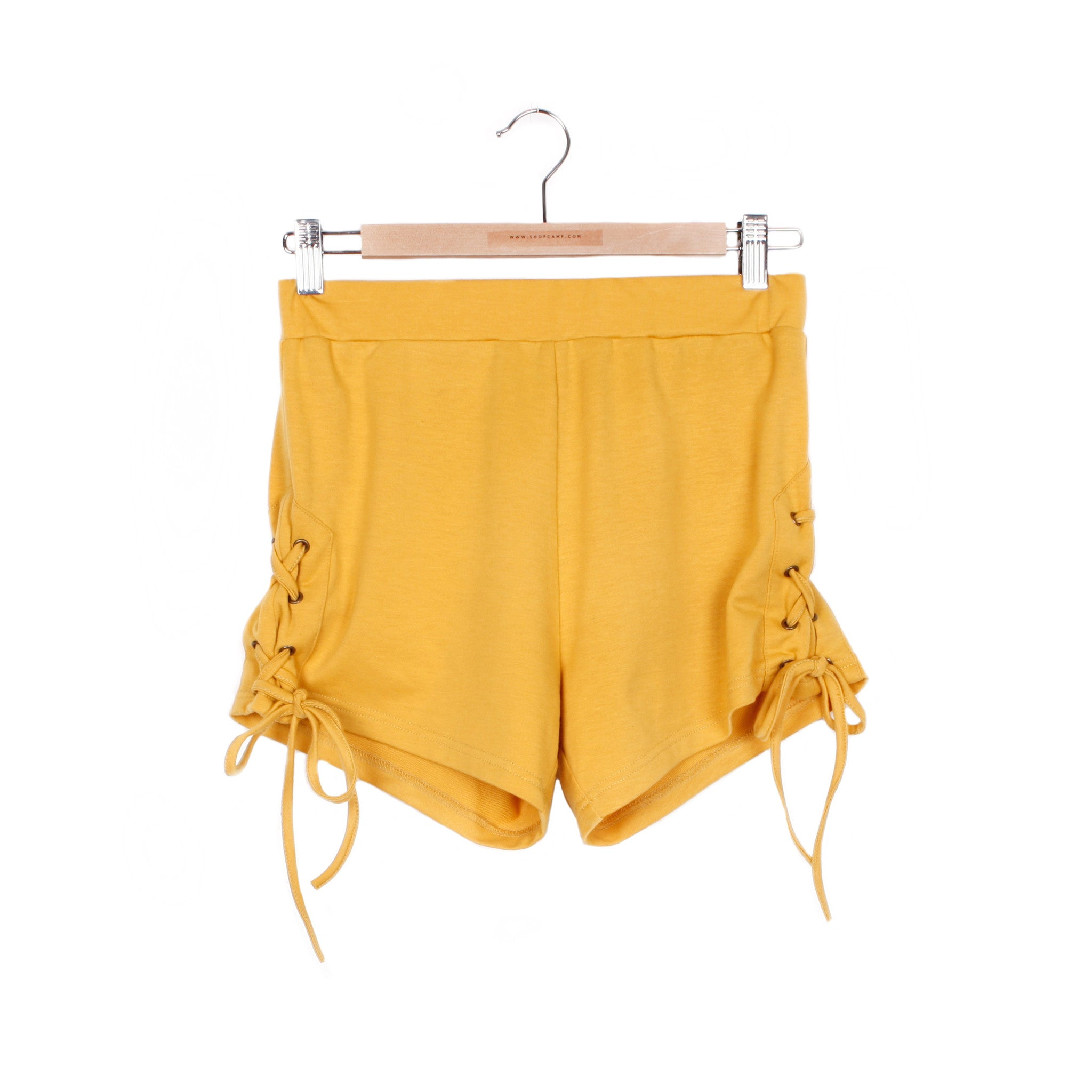 MARYANN SHORTS - MARIGOLD / SMALL - CAMP Collection - 1